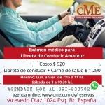 EXAMEN MEDICO EN EL CENTRO DE MEDICINA Y ESPECIALIDADES